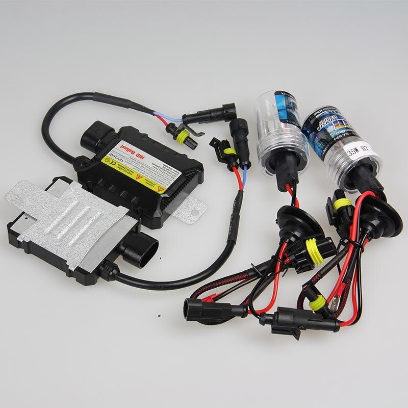 35W HID Xenon Ballast Kit H7 Car Light Bulbs Auto Car Headlight Lamp 4300k 5000k 6000k 8000k 10000k Car Styling Lights Source 2 pieces xenon bulbs car lamp d4r 4300k 42406wx 6000k 12v 35w
