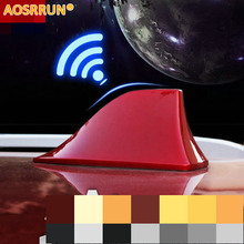 AOSRRUN Car Shark Fin Radio Antenna Special Car Accessories For Peugeot 307 308 3008 2008 408