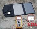 10 W Paneles Solares Portátiles Plegables para Acampar Senderismo Viajar