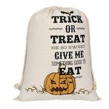 2017 Hot Sale Halloween Candy Bag Satchel Rucksack Bundle Pocket Drawstring Storage Bag High Quality Storage Bag Wholesale A9