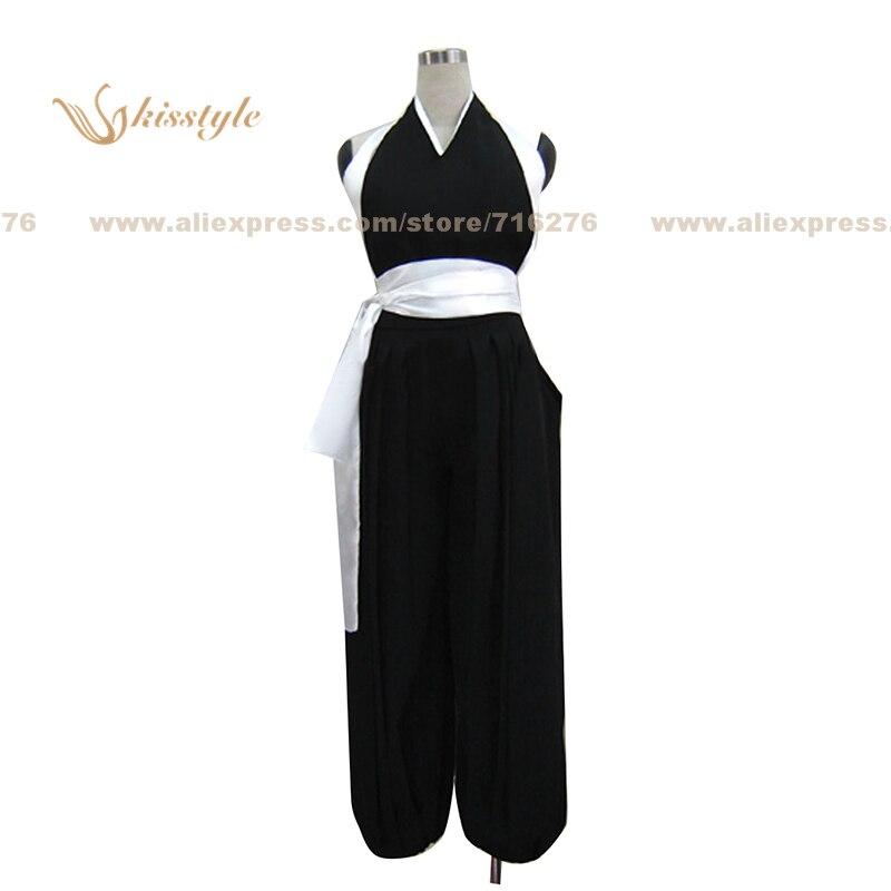 Kisstyle mode blanchiment Niban Soi Fon combat uniforme COS vêtements Cosplay Costume, personnalisé accepté