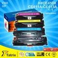 CE 410X/410A/411A/412A/413A Для HP Тонер-Картридж, Совместимый Картридж CE410 Использования для Лазерных Принтеров HP, Оптовая Принтера