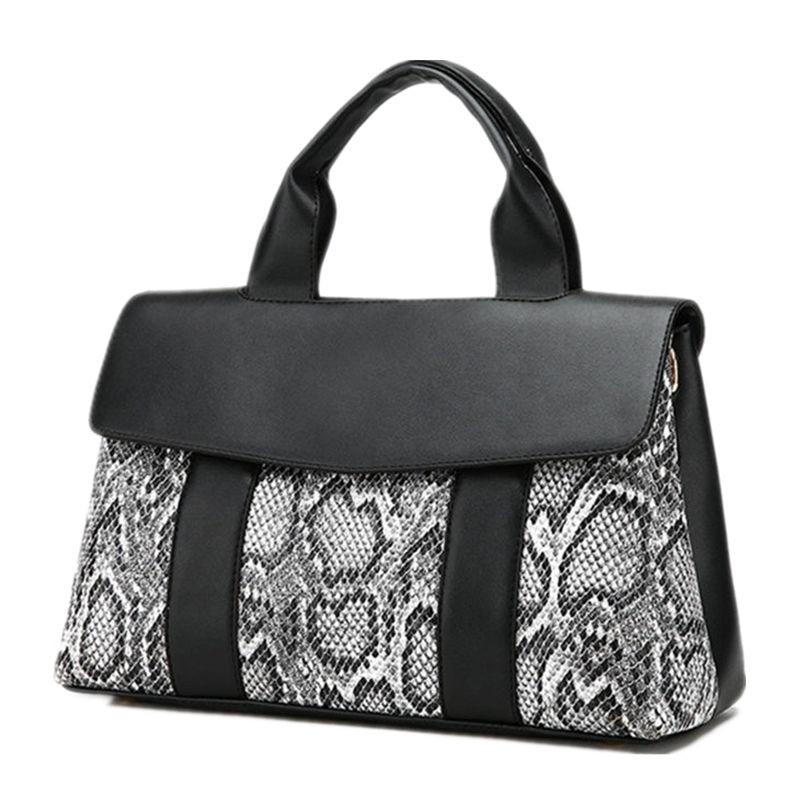 Bags For Women Luxury Handbags Designer Snakeskin PU Leather Handbag Functional Female Hobo Shoulder Bag Tote