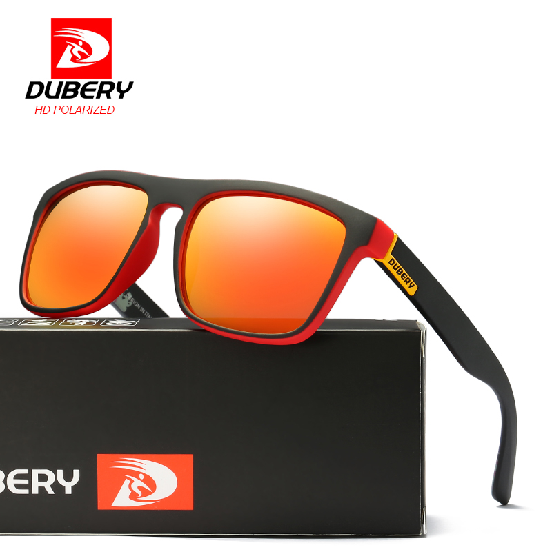 DUBERY Polarized font b Sunglasses b font Men s Aviation Driving Shades Male Sun Glasses For