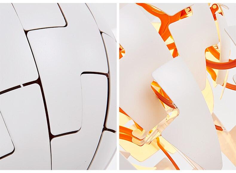 Deformation Ball LED PVC Pendant Lamp (5)