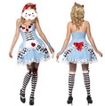 New Fashion Womens Adult Alice in Wonderland Costume Maid's Carnival Hot Fancy Dress Halloween Sexy Costumes Cosplay For Women