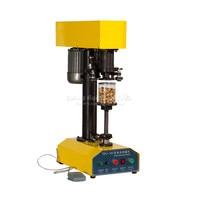Zip Top Can Plastic Jar Capping Electric Tin Sealing Machine TDFJ 160 Q10114