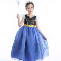 Girls Dress Anna Elsa Dress Children Princess Party Cosplay Costume Kids Girls Halloween Fantasy Dress up 3 9 Years