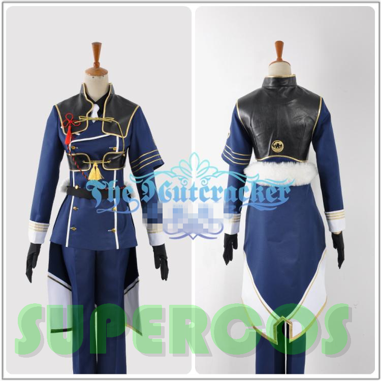 Touken Ranbu Online Nakigitsune Uniform Cosplay Costume ,Perfect Customize For you!