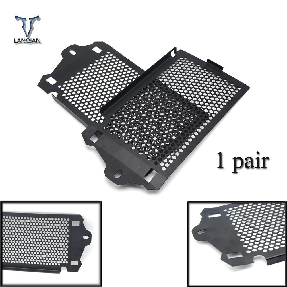 For BMW R1200GS Radiator Guard Cover R 1200 GS 2013 2014 2015 2016 2017 Radiator Oil Cooler Protector Grille R1200GSA new radiator protective cover grill guard grille protector radiator grille guard cover for bmw r1200gs 13 15 r1200gs adv 14 15