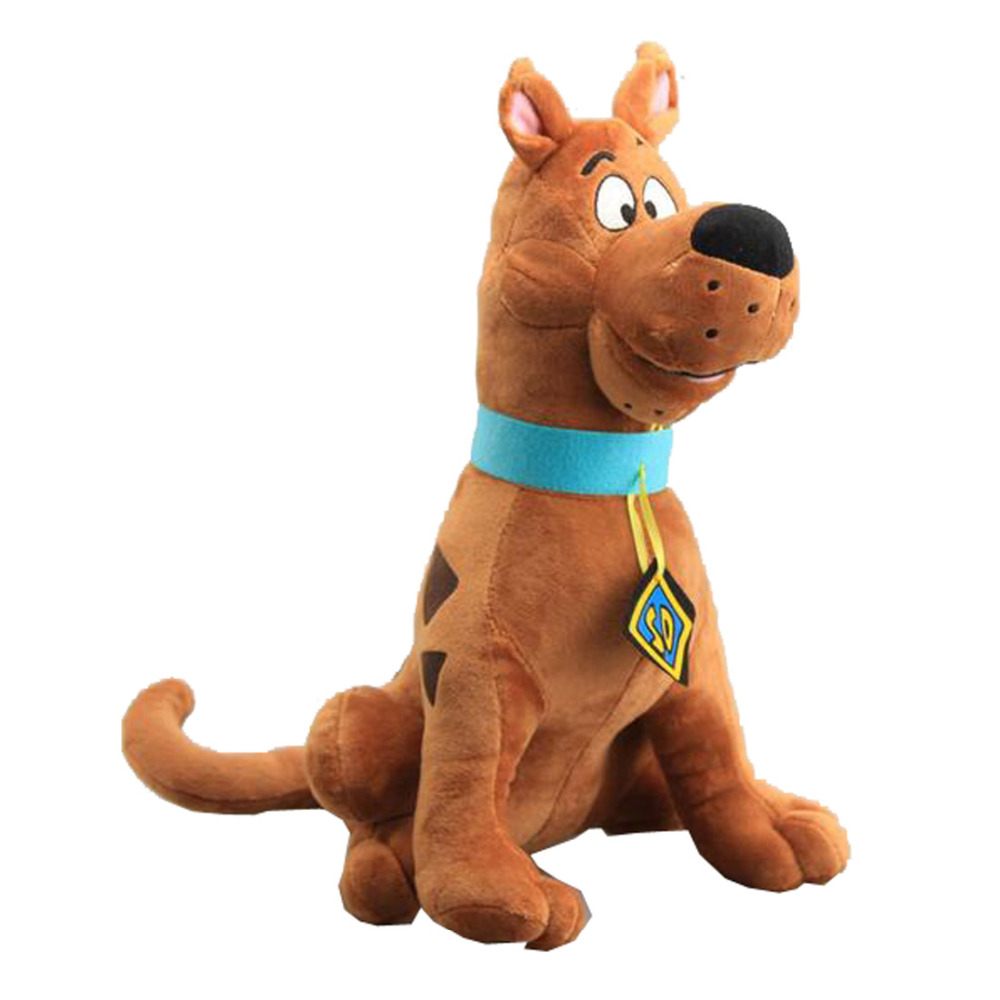 2017 Large Size 35cm Scooby Doo Dog Plush Toys Stuffed Animals Childeren Soft Dolls image