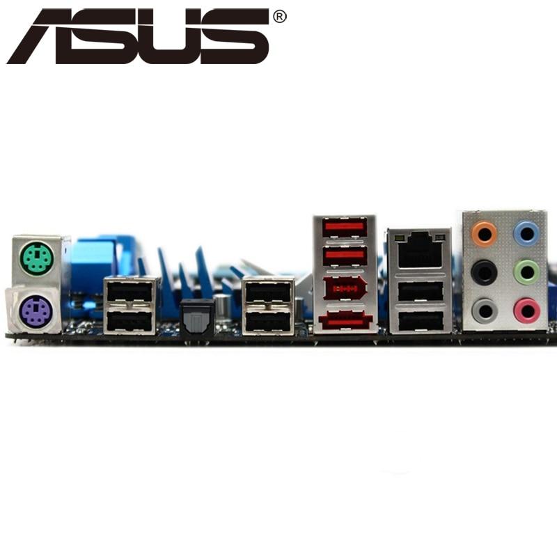 US $79 99  Asus P7P55D Desktop Motherboard P55 Socket LGA 1156 i5 i7 DDR3  16G ATX UEFI BIOS Original Used Mainboard On Sale H55-in Motherboards from
