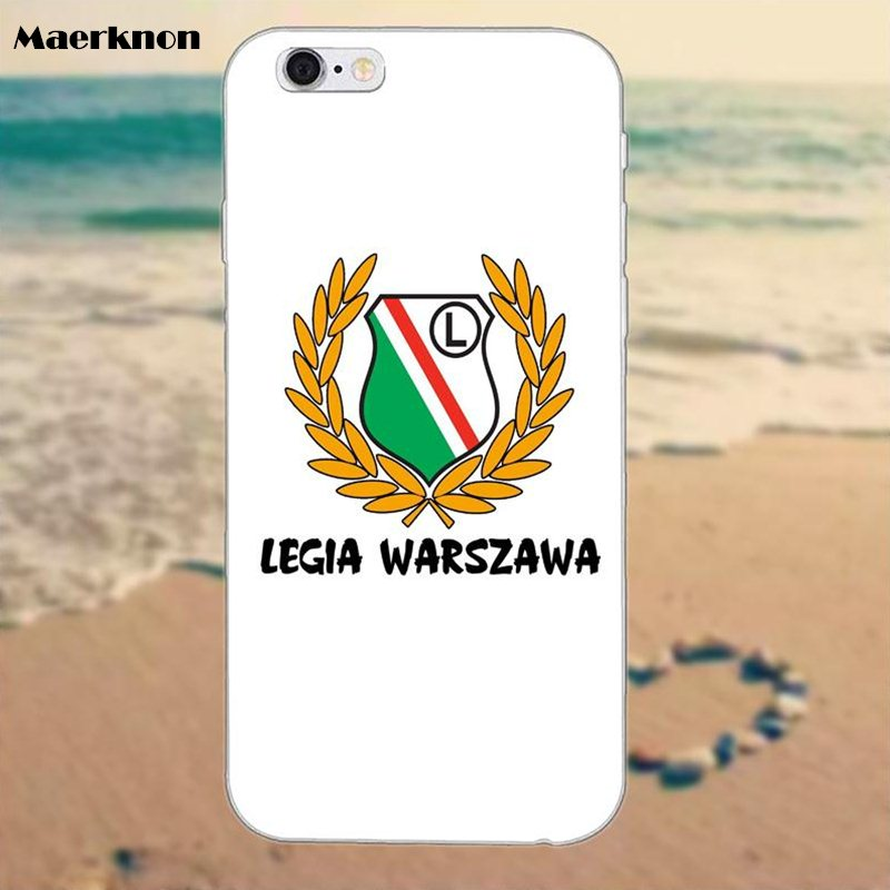 US $1 99 |Soft Phone Covers Case for Legia Warszawa Poland For Huawei G7 G8  Honor 5A 5C 5X 6 6X 7 8 V8 Mate 8 9 P7 P8 P9 P10 Lite Plus-in Half-wrapped