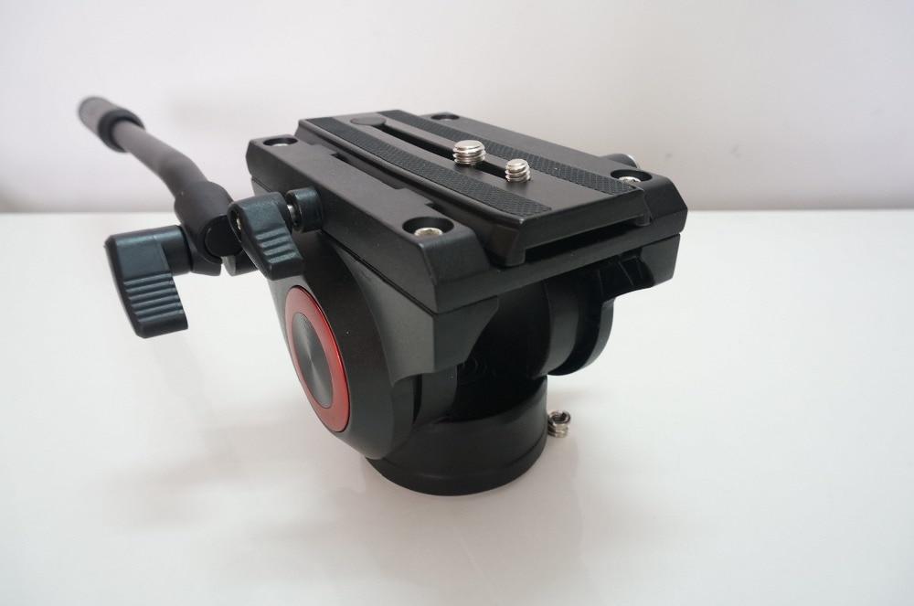 Fluid Head For Camera Tripod Monopod Professional Ball Head Aluminum Video Head 360 Camera Panorama PTZ triopo nb 1s professional camera ball head
