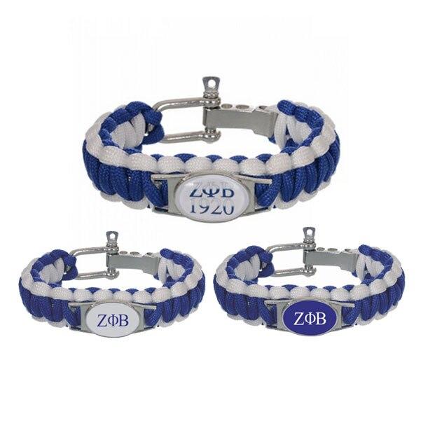 Zeta Phi Beta Survival Bracelet