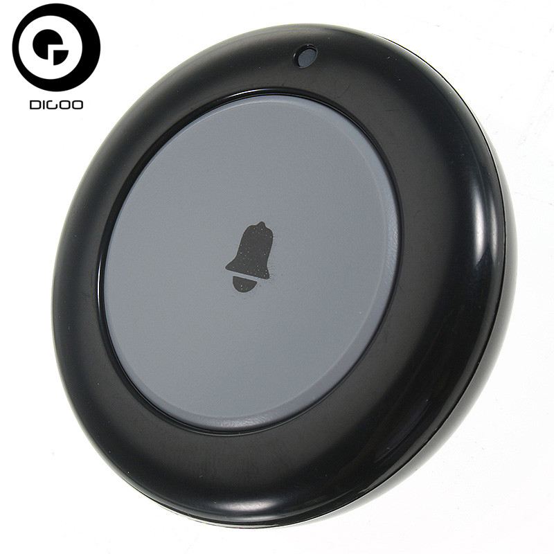 DIGOO DG-HOSA 433MHz Doorbell Button Compatible With HOSA MAHA 2G 3G Security Alarm System Wireless Remote DoorBell Button