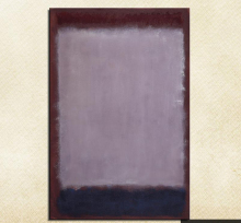 Mark Rothko Still life Classical oil Painting Drawing art Unframed Canvas wax action handmade picture hologram купить недорого в Москве