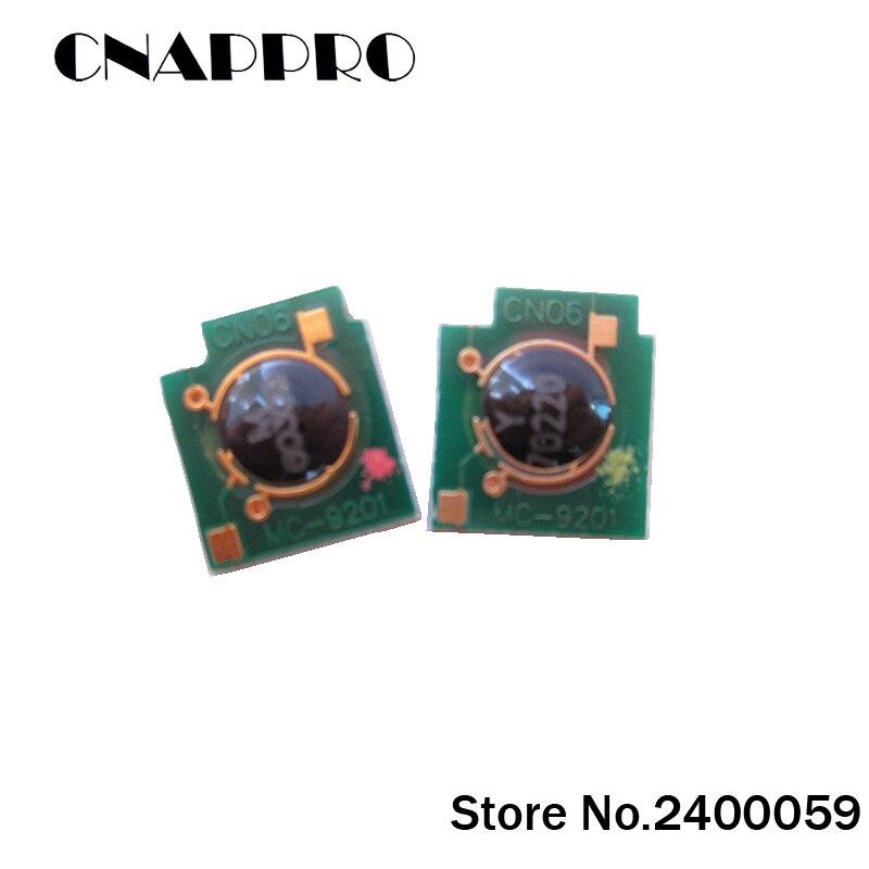 8pcs KCMY CB400A CB401A CB402A CB403A Toner reset chips for HP-CP4005