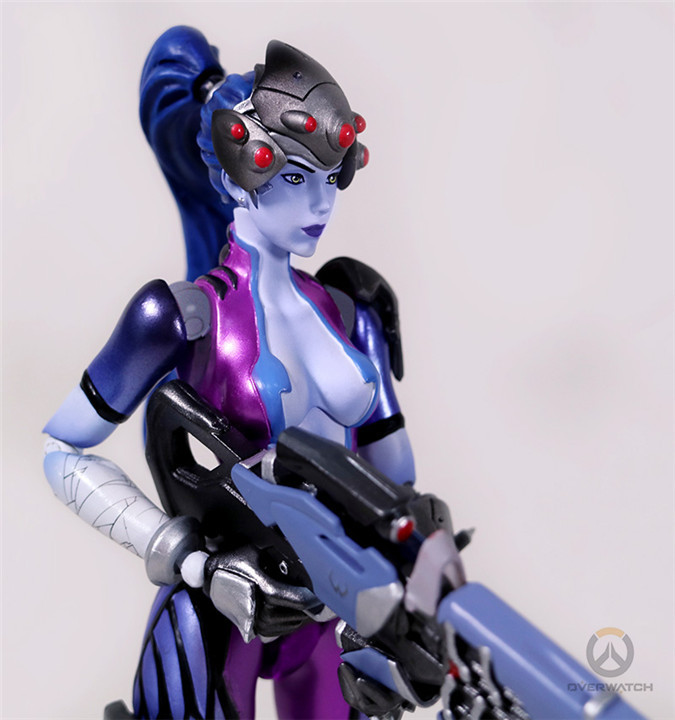 20cm game Figma Widowmaker OW Amelie Lacroix black widow PVC naruto harley quinn zelda action Figure Collectible Model Toy ow amelie lacroix widowmaker cosplay costume custom made any size