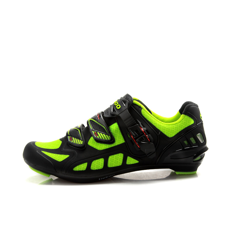 TIEBAO G1502 Outdoor Road Cycling Shoes Breathable Upper Auto-Lock SPD LOOK-KEO Cleat Compatible Bike Shoes Racing Bicycle Shoes pd25016a module special supply welcome to order