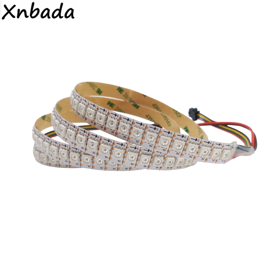 1M/2M/3M/4M/5M Led Pixel Strip APA102,30/60/144Leds/Pixels/m IP30/IP65/IP67 DATA and CLOCK Seperately DC5V m