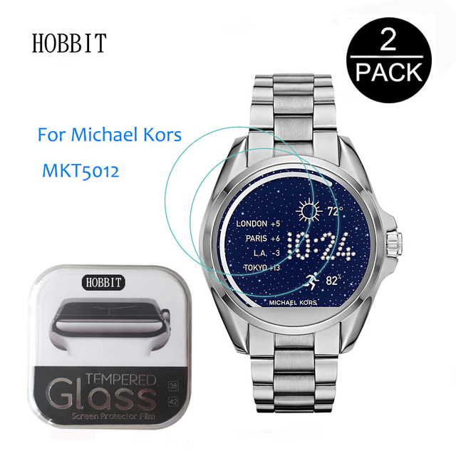 3651a2d41bd8 2PACK For Michael Kors MKT5012 mk5012 0.3mm 2.5D Rounded Edge Tempered  Glass Screen Protector