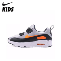 Nike AIR MAX TINY 90 Children Magic Subsidies Light Motion Boy And Girl Casual Shoes Running Sneakers #881927 009