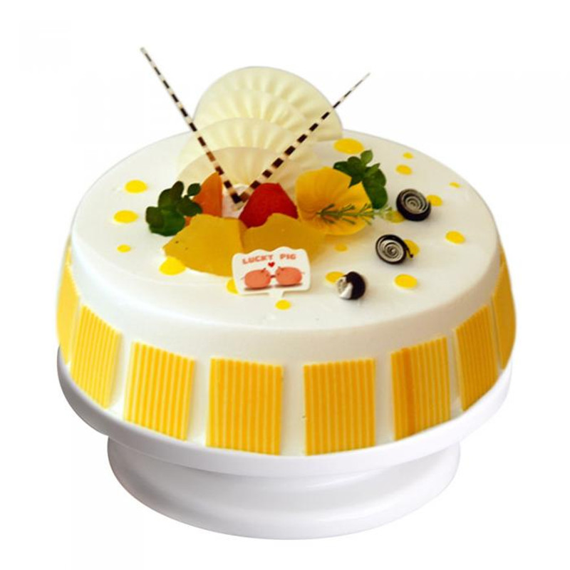 Cake Stand Plate Decorating Bakery Supplies Professional Turntable Revolving China