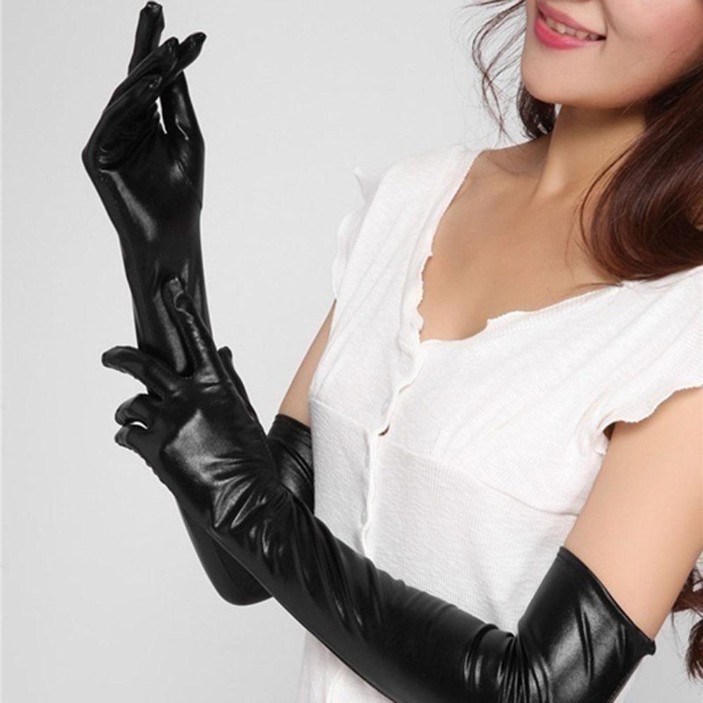 Ladies erotic leather gloves porn tube