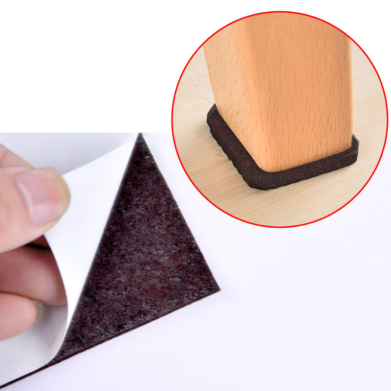 Felt Pad Chair Table Foot Pad Furniture  Protection Table Chairs Sofa Cabimet Feet Pad Non-slip Mute Wear Resistant