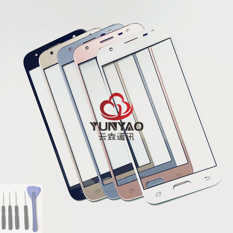 New Replacement LCD Front Touch Screen Glass Outer Lens For Samsung Galaxy J3(2017) J3 pro j330 j330f J3pro Touch Screen