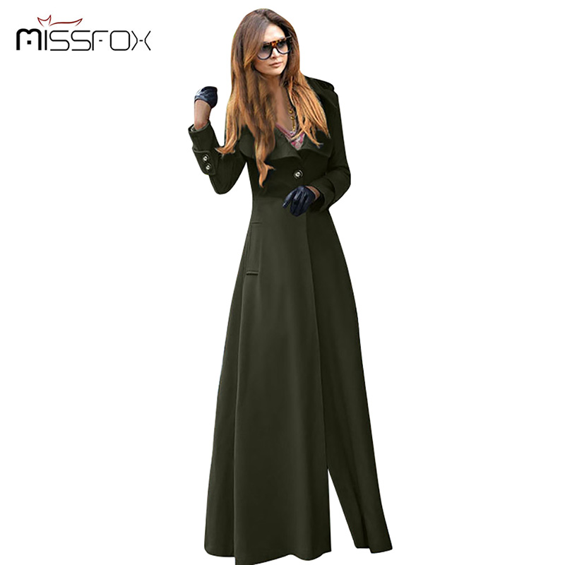 Floor Length Coat Women New 2016 Spring Jackets And Coats Extra Long Thin  Wool Cashmere Coat Manteau Femme Windbreaker  In Wool U0026 Blends From Womenu0027s  ...