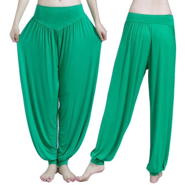 13 Colors Wide Leg Yoga Pants Plus Size Women Loose Pants Long Trousers for Yoga Dance S M L XL XXL XXXL Soft Modal Home Pants