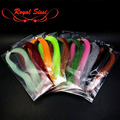 Hot 4packs set fly tying twisted Flashabou Tinsel Flash crystal Tinsel saltwater fly wings tails sabaki rig fly tying materials