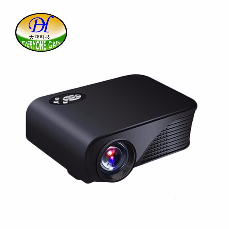 Everyone Gain Mini280 Led Projector 1800lms Home Theater Support 1080p Android Projector 3D Games Home Theater Digital Proyector everyone gain video projector 3000 lumens highlight build in speaker android 4 2 support 1080p movie proyector tl300