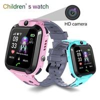 2019 kids Smart Watch LBS Positioning Tracker ip67 Waterproof Children Watch SOS Emergency Call Support SIM Card Baby Watch kids