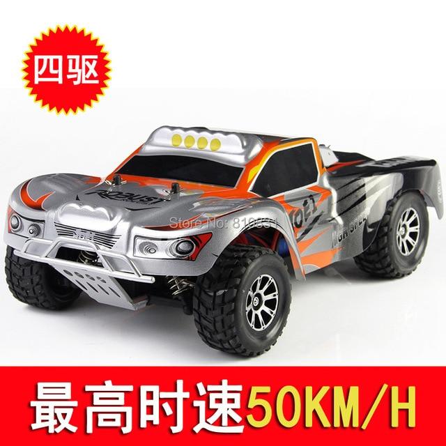 45 km alta velocidad fuera de la carretera A969 Weili 1:18 2.4 G coche de control remoto de carreras de velocidad en las cuatro ruedas de atletismo
