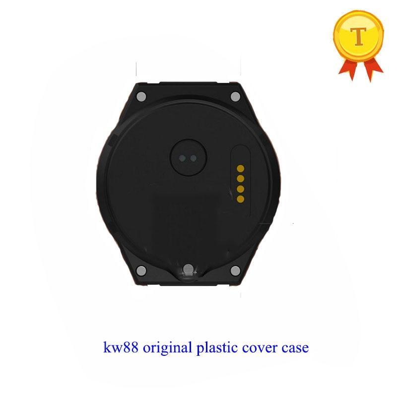 Original kingwear kw88 pro smart watch phone watch clock saat plastic spare parts back cover black backcover case