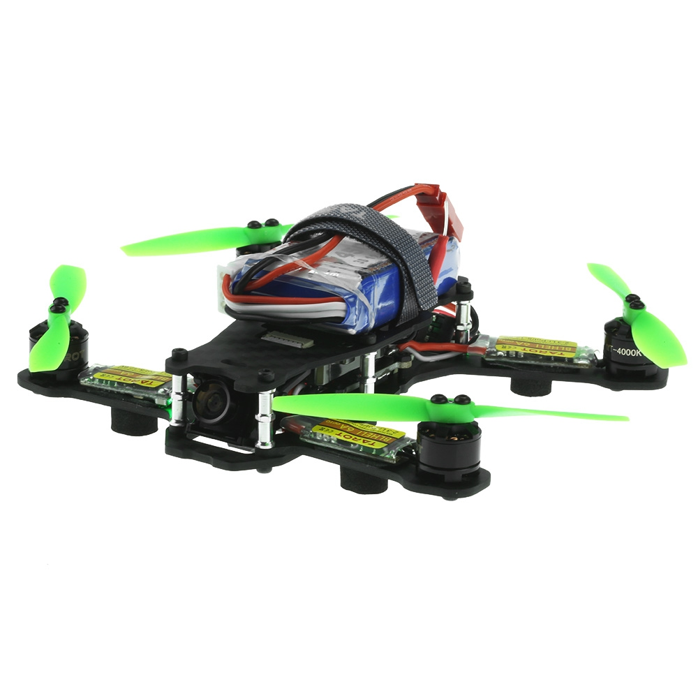 F17840 Tarot TL130H1 RTF Mini Racing Drone Alien 130 Quadcopter Carbon Fiber Frame with Controller Motor ESC Prop FPV Parts купить