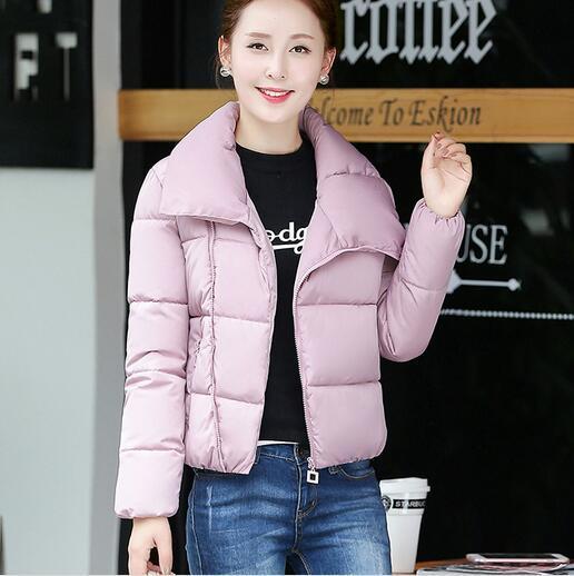 Barato al por mayor 2017 nueva venta Caliente Del Otoño Invierno moda mujer casual GRATUITO YX1061 nieve cálida Chaqueta de la Capa impermeable