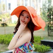 Ladies Foldable Fashion Large Brim Cap