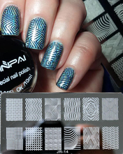 1Pc High Quality JR01-30 Nail Stamping Plates Stainless Steel Image Konad Stamping Nail Art Manicure Template Nail Stamp Tools недорого