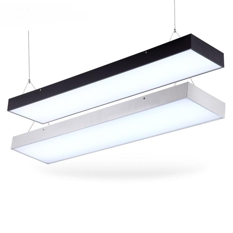 Modern office lighting 120CMX0.17CM LED the office of modern office lighting hanging lamp supermarket pendant lights BG9