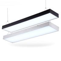 Moderne büro beleuchtung 120 CM X 0 17 CM LED büro der modernen büro beleuchtung hängelampe supermarkt pendelleuchten BG9|pendant lights|modern office lightingoffice light -