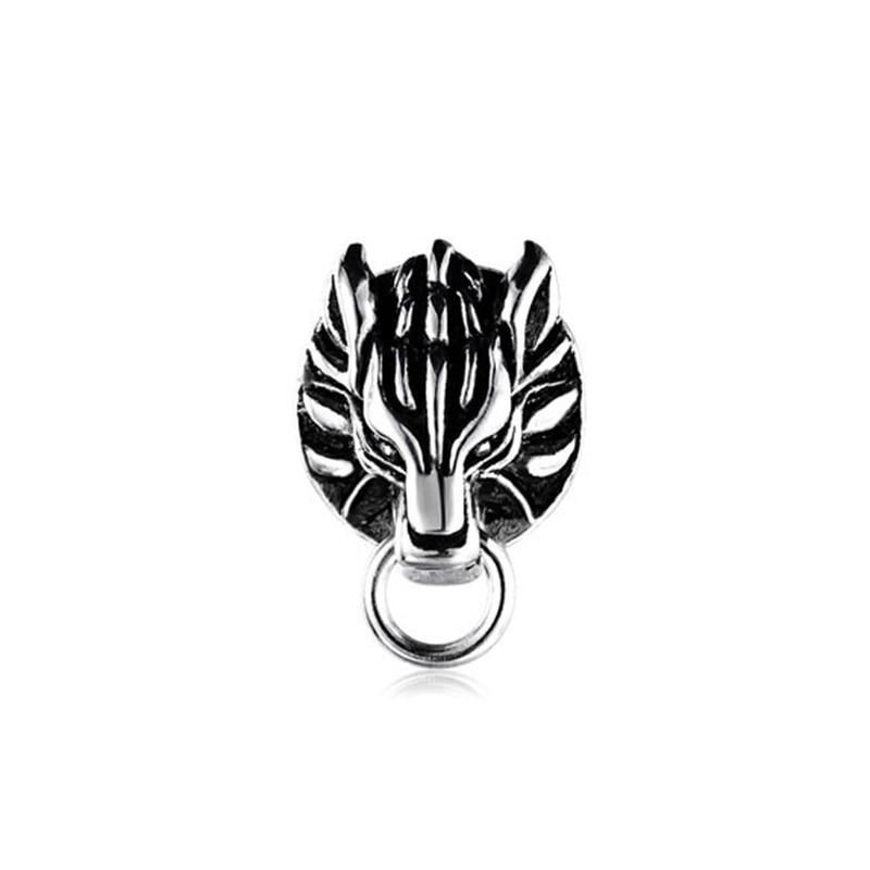 Final Fantasy Cloud Strife Wolf Claude Wolf Earrings Final Fantasy VII FF7AC S925 Sliver Earrings