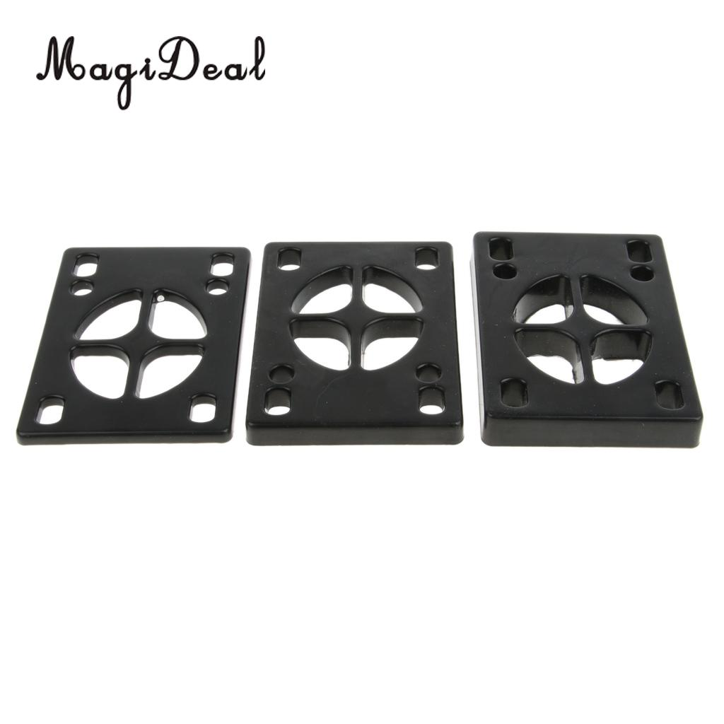 Pair Of Longboard Riser Pads Skateboard Shock Pads Risers For Truck Mounting Hardware Tool Adults Kids Outdoor Sports Tool