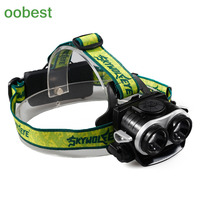 Oobest Hot New Mini LED Super Light Headlight Waterproof High Quality For Camping Hiking Hunting Fishing