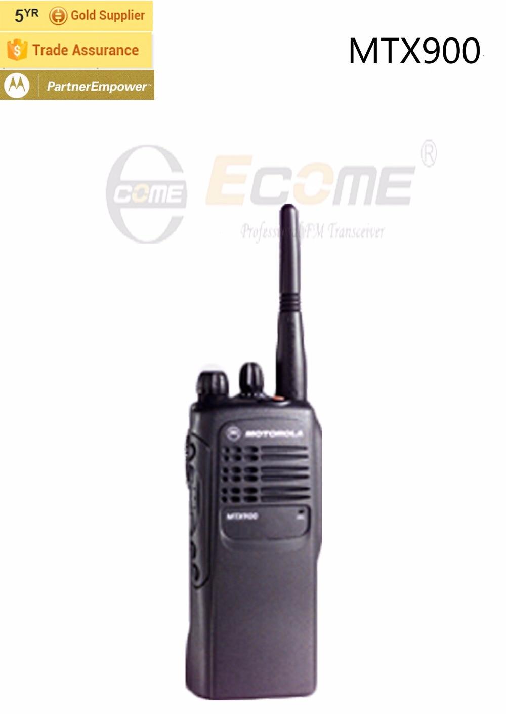 Motorola MTX900 Walkie Talkie Long talking Range with 16c groups no ...