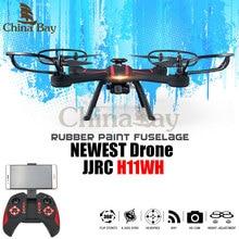 JJRC H11WH Drone Avec 2MP Wifi Rotatif Caméra Hauteur Mode D'attente une Clé Land Rc Quadcopter Fpv Drone Hélicoptère Vs Syma X5HW