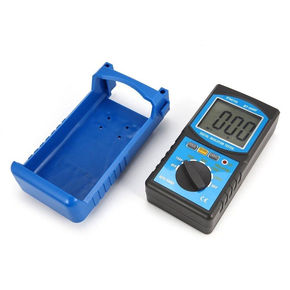 HoldPeak 6688F Digita Insulation Resistance Tester Resistance Meters 250V/500V/1000V/2500V Megger Megohmmeter Voltmeter new digital insulation megger tester meter vc60b 250v 500v 1000v